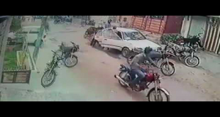 Another Footage Of Street Crime In Karachi