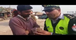 KPK Traffic Warden Conversation With A Man Who Offered Him Bribe