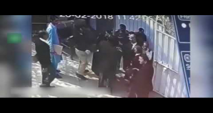 Lawyer Slaps Police Officials Outside Lahore High Court