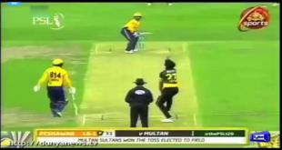 Multan Sultan Beats Peshawar Zalmi In PSL 3 Opening Match
