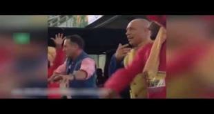 Danny Morrison, Michael Slater Shake Their Legs On Punjabi Song In PSL