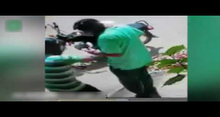 CCTV Footage Of Snatching Money In Muhammad Ali Society