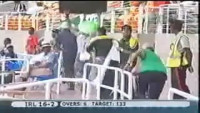 Ouch! look at this Cricket Supporter...