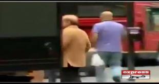 Video Of Shahbaz Sharif Walking On Road Goes Viral