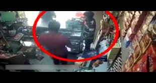 CCTV Footage Of Karachi Shop Robbery In Broad Daylight