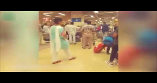 Nabeel Gobol Beats Up Citizen In Karachi Airport