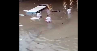 Check The Condition After The Rain In Saudi Arabia