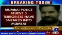 Indian Lies Exposed 3 Pakistanis Enter Mumbai for Terrorism