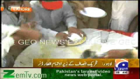 Azaan se Pehle Roza Kholdia Gaya - PTI Aftar Party