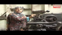 Tool machine operator's daughter gets 3rd position in BA