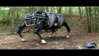 Robotic dog unveiled by the US military