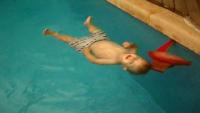 Baby survival swim