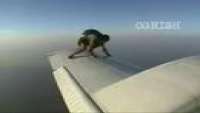Man On The Wing Of a Plane