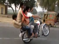 Without safety stunt
