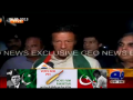 Imran Khan interview at Karachi Airport 7 May 2013