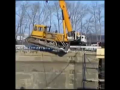 Bulldozer and 35-ton crane Fail