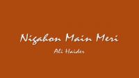 Nigahon Me Meri - Ali Haider Naat