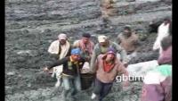 Landslide in Hunza