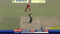 Ahmed Shehzad Blasts 98 Runs Off 64 Balls Vs Zimbabwe in 2nd T20