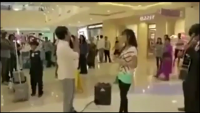 Marriage proposal ends in disaster