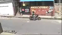 Failed Robbery Attempt In Brazil