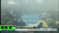 Egg Fight In Ukraine Parliament