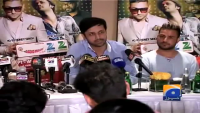 Atif Aslam on Lollywood Press conference 13 sep 2013