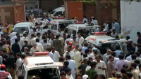 Angry Reception for Imran Khan after Peshawar Church Bombing