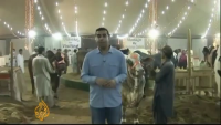 Huge and Largest Cattle Market in Pakistan on Eid ul Adha 2013