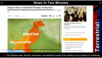 Pakistan Earthquake, Ocean Uplift: UN Arms Treaty: F16 Drones: Israel Polio