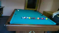 Amazing billiard tricks
