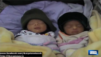 Pakistani Women gives birth to 5 babies at Peshawar