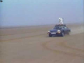 130mph Car Roof Skiing