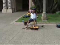 Guy Plays Guitar With His Feet