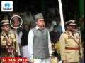 Shoe Thrown at Omar Abdullah on I-Day Parade