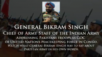 Indian Army Chief Praising PAK Army As One Of The Best Military of the World
