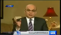 Dunya @ 8 With Malick - 30th December 2013