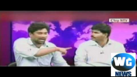 Indian Politicians Fight In Talk Show