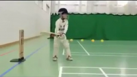 6 Year Boy's Superb Batting Must Watch
