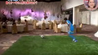 Amazingly Accurate Soccer Kick