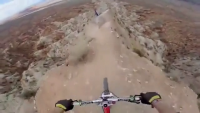 This is Awesome - Back flip Over 72ft Canyon