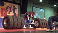 Strongest Man Dead lift