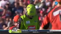 Amazing splendid Bowling of Brad Hogg
