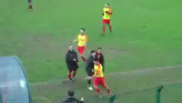 Idiotic Goal Celebration & Got Red Card From Refree