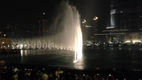 Water Fountain Dance At Dubai