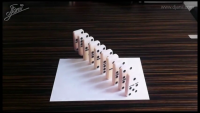 3D Painting Illusions on Paper