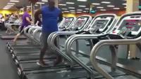 Dancing At Gym