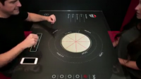 Pizza Hut Interactive Table