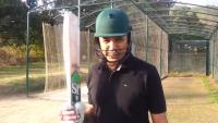 Anchor Talat Hussain Playing Cricket