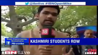 Shut up Call by Kashmiri Student - Shown Real Face of India